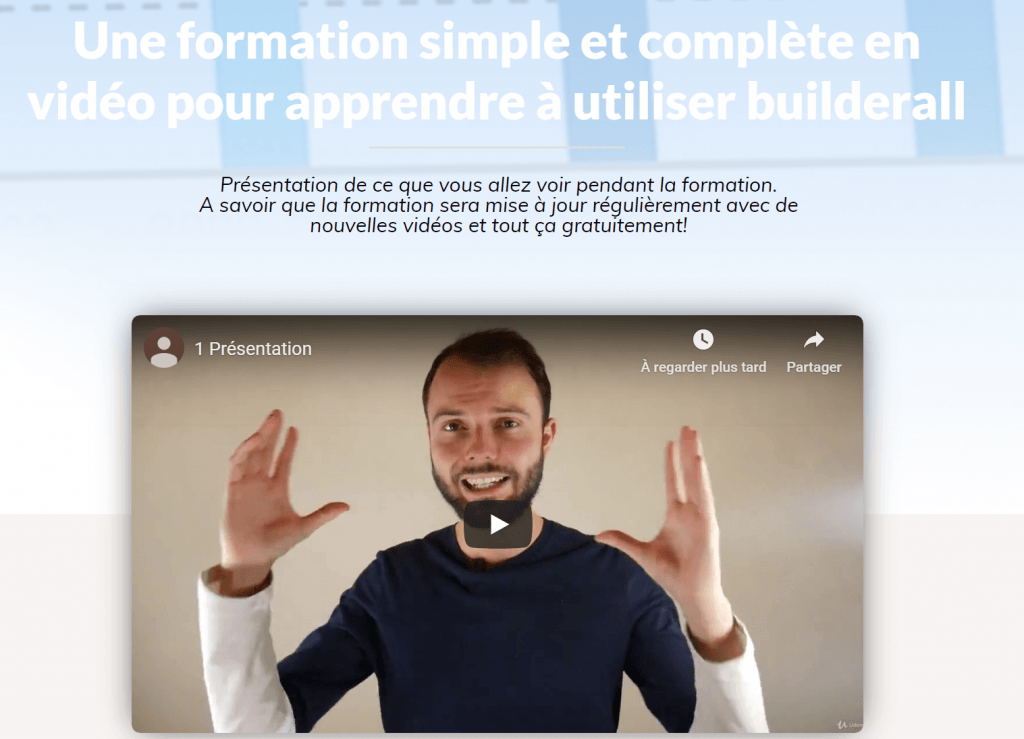 Formation builderall France