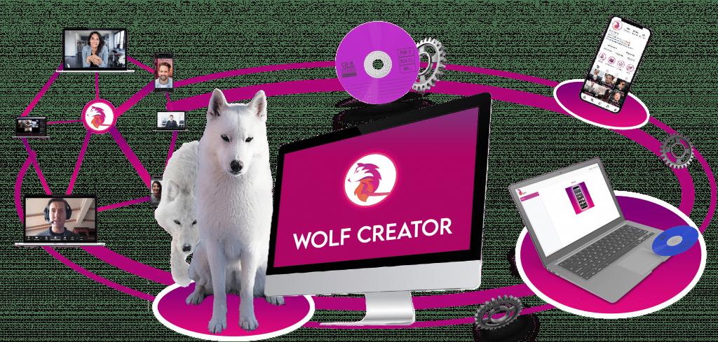 Wolf Creator (logiciel Instagram)