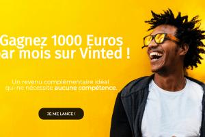 Gagnez 1000 euros par mois sur Vinted !!