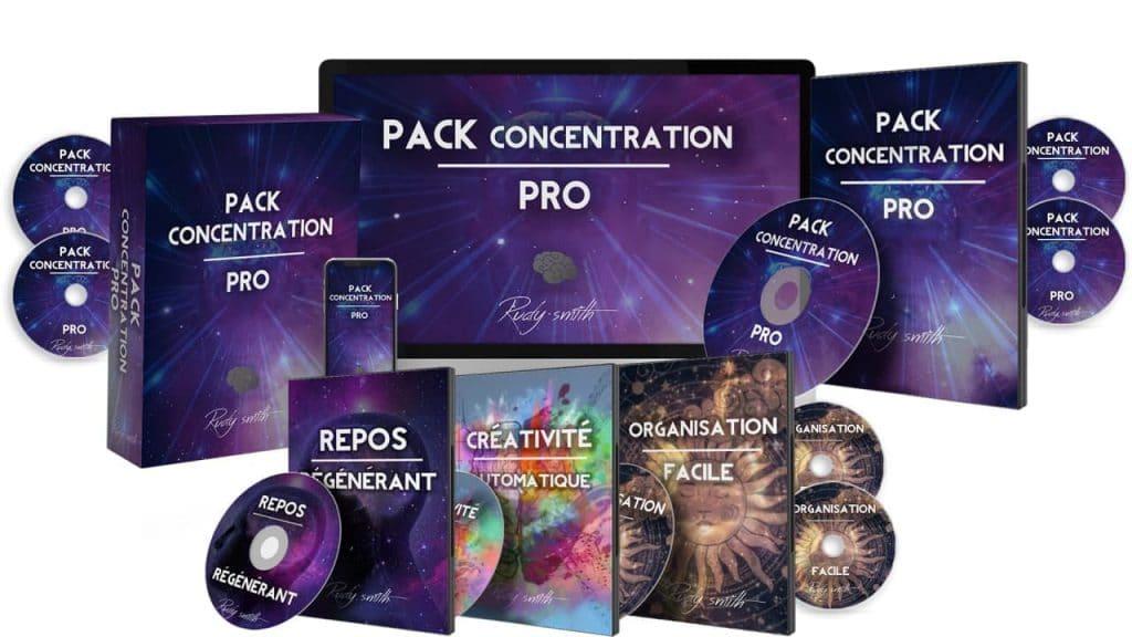 Pack Concentration Pro - DOUBLER SA CONCENTRATION